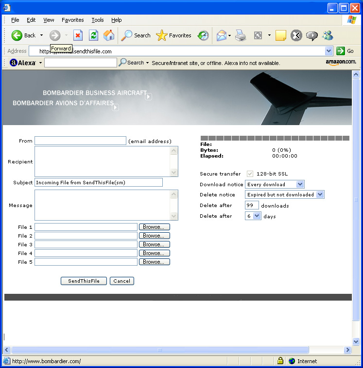 Send large files the secure and easy way
