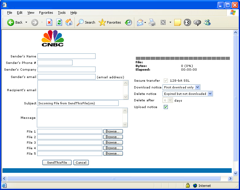 Television and Radio File Transfer Solution